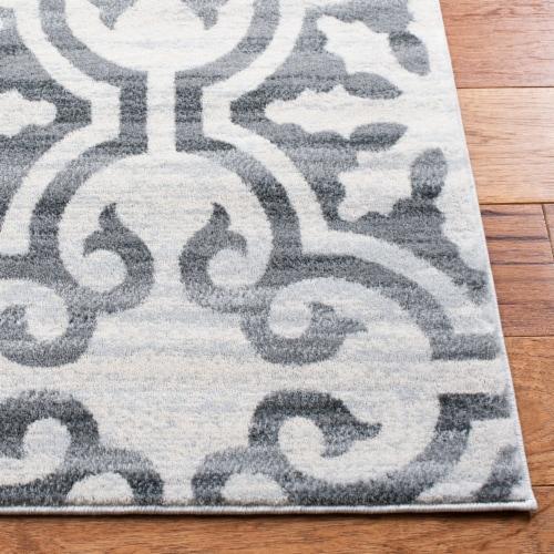 Safavieh Martha Stewart Isabella Floor Runner Rug - Gray/Ivory Perspective: back