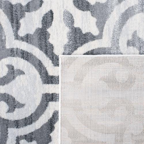 Safavieh Martha Stewart Isabella Rug - Grey/Ivory Perspective: back