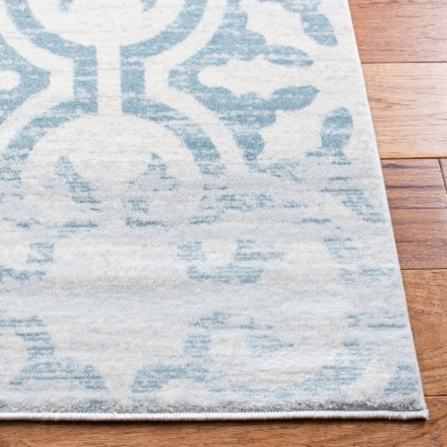Safavieh Martha Stewart Isabella Rug - Turquoise/Ivory Perspective: back
