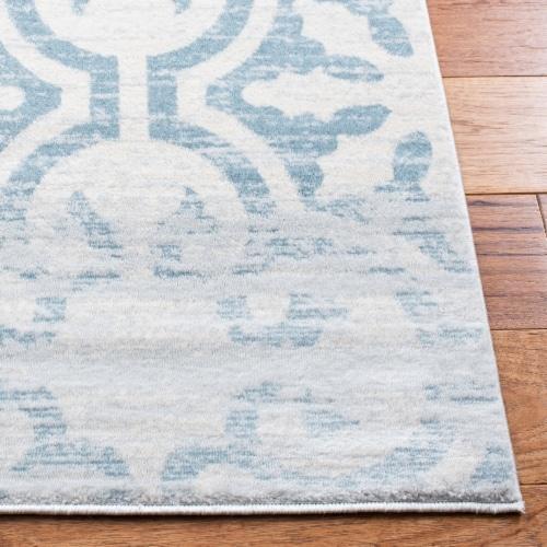 Safavieh Martha Stewart Isabella Area Rug - Turquoise/Ivory Perspective: back