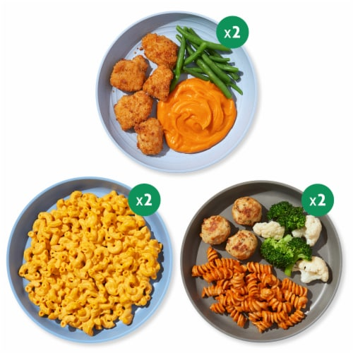Nurture Life Healthy Toddler & Kid Food Picky Eater 5-Meal Variety Pack, Organic Focus Perspective: back