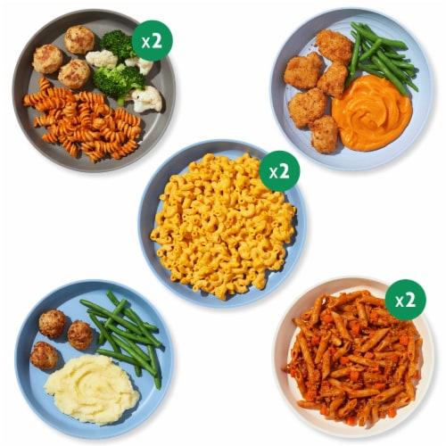 Nurture Life Toddler & Kid Food Favorites 8-Meal Variety Pack, Fresh Baby Food Perspective: back