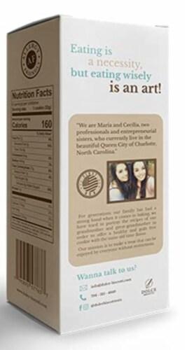 Dolce Biscotti Vegan, Gluten Free, Allergen Free Snickerdoodle Cookies - 6.77 oz. each unit Perspective: back