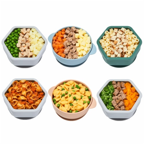 Nurture Life Baby & Toddler Finger Food Favorites 5-Meal Variety Pack, Fresh Baby Food Perspective: back