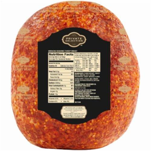 Private Selection™ Sriracha Seasoned Turkey Breast Perspective: back