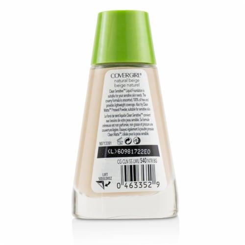 Covergirl Clean Sensitive Liquid Foundation  # 540 Natural Beige 30ml/1oz Perspective: back