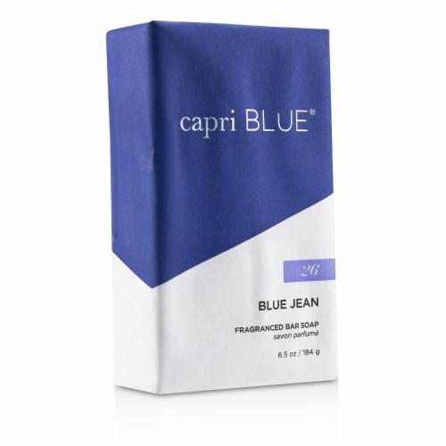 Capri Blue Signature Bar Soap  Blue Jean 184g/6.5oz Perspective: back