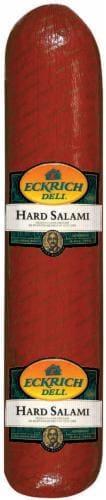 Grab & Go Eckrich Hard Salami Perspective: back
