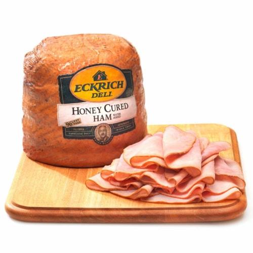 Eckrich Honey Cured Ham Perspective: back