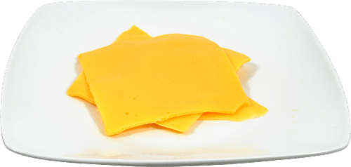 Boar's Head Yellow Whole Milk American Cheese Perspective: back
