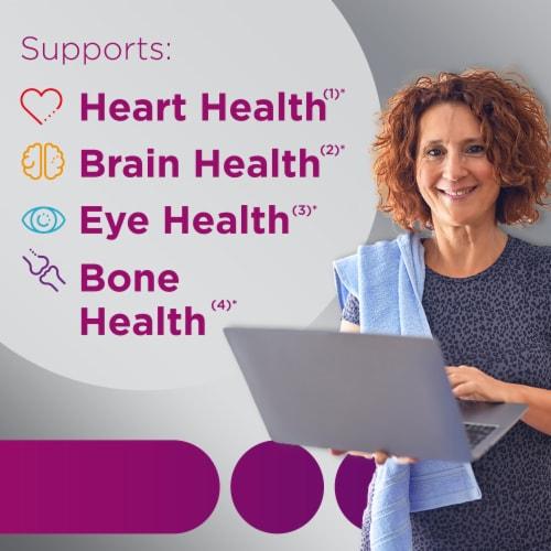 Centrum® Silver® Multivitamin for Women 50 Plus Multivitamin/Multimineral Supplement Perspective: back