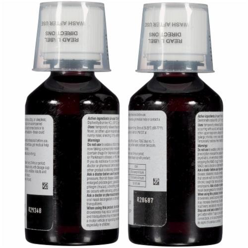 Dimetapp® Children's Day & Night Liquid Cold & Cough Suppressant & Decongestant Relief Perspective: back