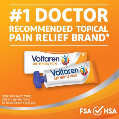 Voltaren Arthritis Pain Relief Topical Gel Perspective: back