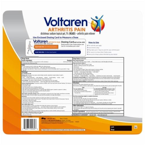 Voltaren Arthritis Pain Reliever Topical Gel Perspective: back