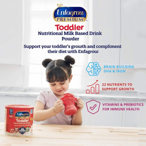 Enfagrow Premium Toddler Next Step Natural Milk Drink Perspective: back