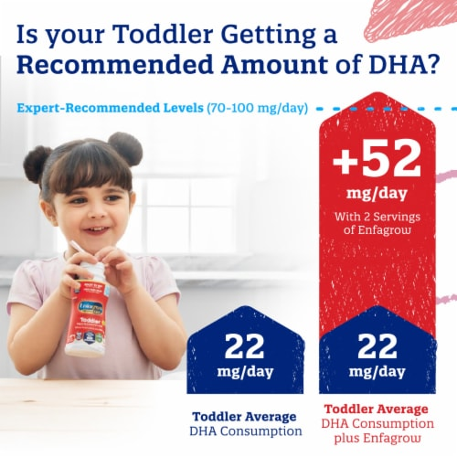 Enfagrow Premium Toddler Nutritional Drink Powder Baby Formula Perspective: back