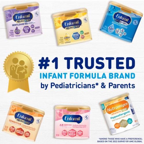 Enfamil NeuroPro Gentlease Infant Formula Milk-Based Powder Perspective: back