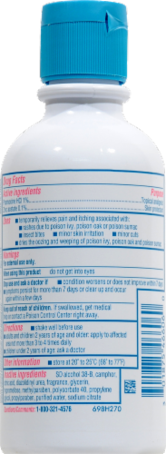 Caladryl Clear Itch Relief Lotion Perspective: back