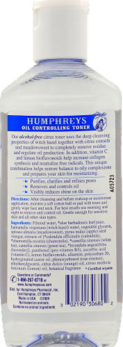 Humphrey's Witch Hazel Oil Controlling Perspective: back