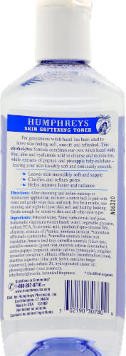 Humphreys Witch Hazel Facial Toner Perspective: back