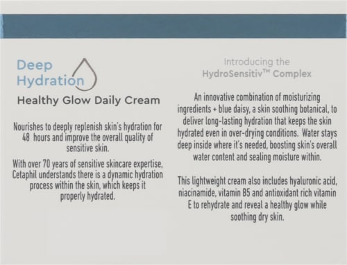 Cetaphil® Deep Hydration Healthy Glow Daily Face Cream Perspective: back