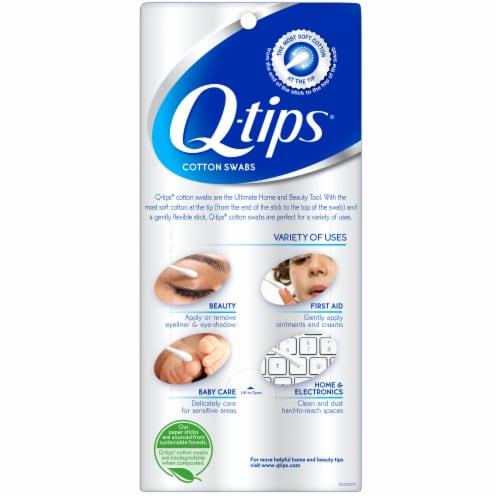 Q-tips® Original Cotton Swabs Perspective: back