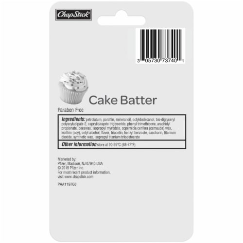 ChapStick Cake Batter Lip Balm Perspective: back