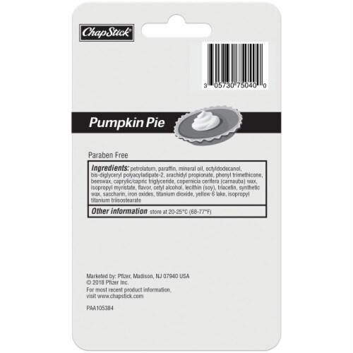 ChapStick® Pumpkin Pie Lip Care Perspective: back