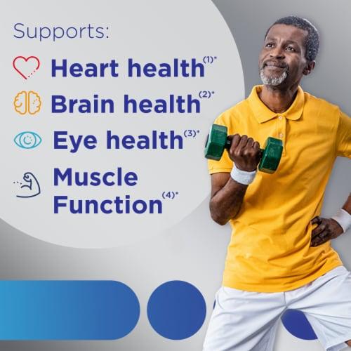 Centrum Silver Men 50+ Multivitamin/Multimineral Supplement Tablets Perspective: back