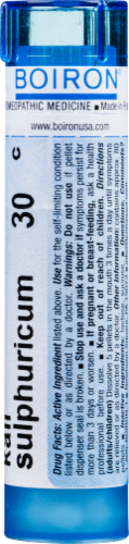 Boiron Kali Sulphuricum 30 C Perspective: back