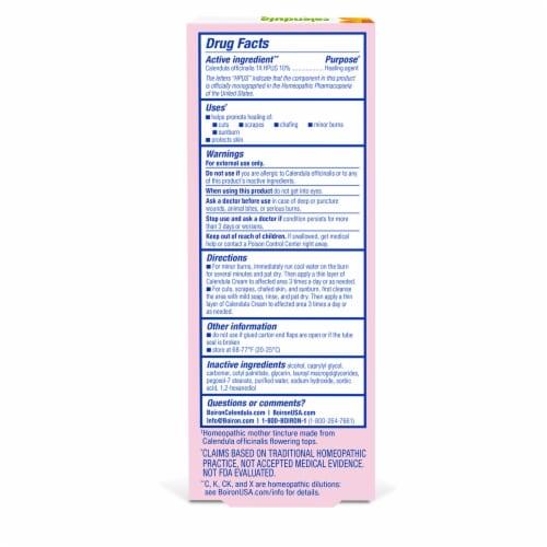Boiron Calendula First Aid Cream Perspective: back
