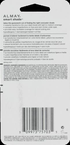 Almay Smart Shade 030 Medium Concealer Perspective: back
