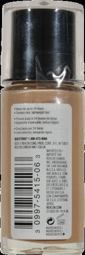 Revlon Colorstay Normal/Dry Skin Medium Beige Makeup Perspective: back