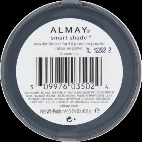 Almay Smart Shade Nude Powder Blush Perspective: back