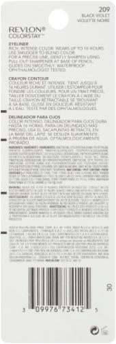 Revlon ColorStay 209 Black Violet Eyeliner Perspective: back