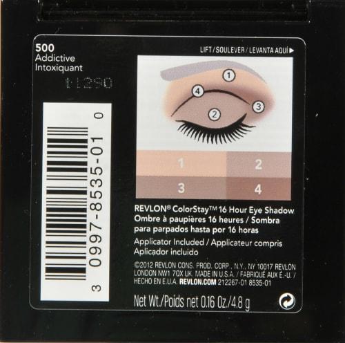 Revlon Colorstay 500 Addictive Eyeshadow Perspective: back