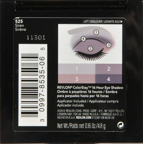 Revlon ColorStay 525 Siren Eyeshadow Perspective: back