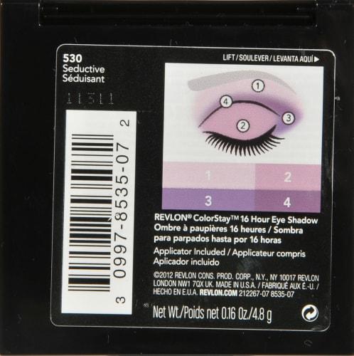 Revlon ColorStay 530 Seductive Eye Shadow Quad Perspective: back