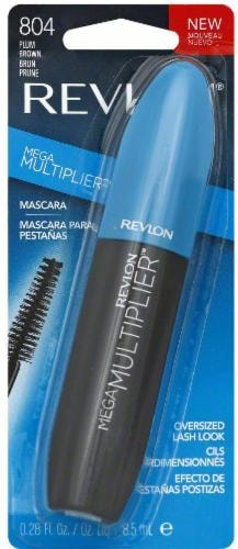Revlon Mega Multiplier Plum Brown Mascara Perspective: back