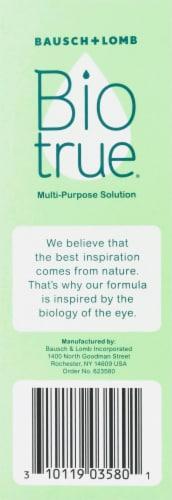 Bausch & Lomb Bio True Multipurpose Solution Perspective: back