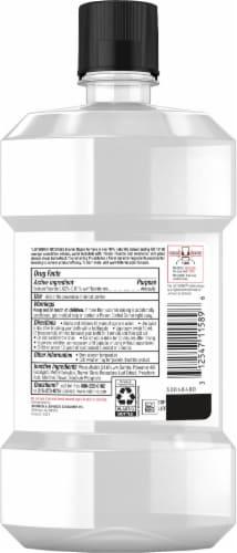 Listerine Naturals Enamel Repair Herbal Mint Mouthwash Perspective: back