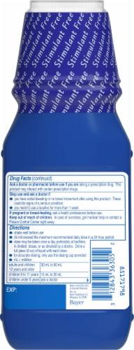 Phillips Fresh Mint Milk of Magnesia Liquid Laxative Bottle Perspective: back