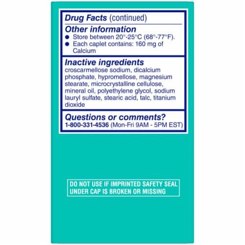Midol Bloat Relief Caplets Perspective: back