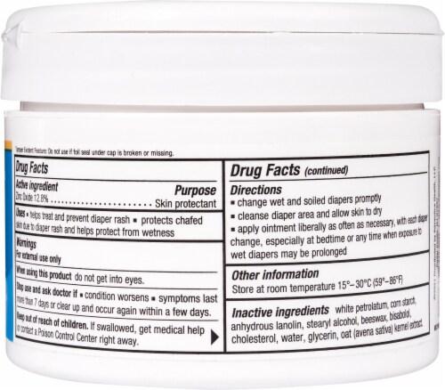 Triple Paste Zinc Oxide Diaper Rash Cream Perspective: back