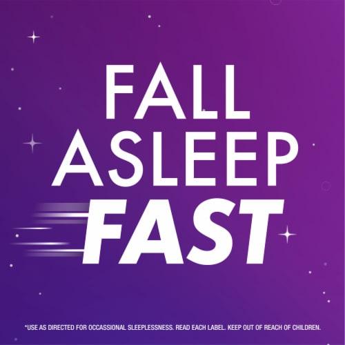 Vicks ZzzQuil Calming Vanilla Cherry Nighttime Sleep-Aid Liquid Perspective: back