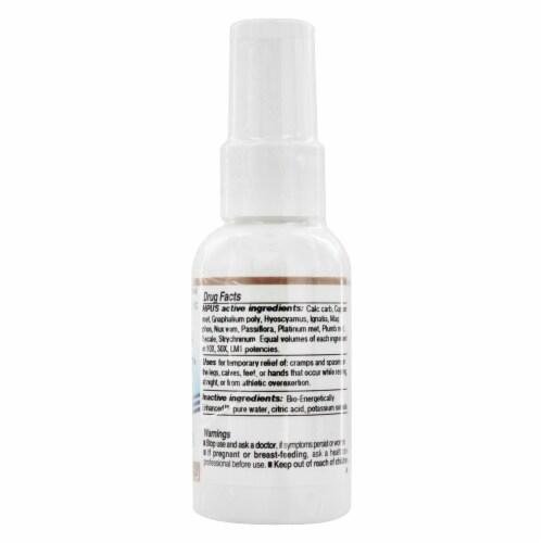 Dr. King's Leg Cramp & Spasm Relief Natural Medicine Spray Perspective: back