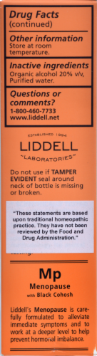 Liddell Laboratories Menopause Oral Spray Perspective: back