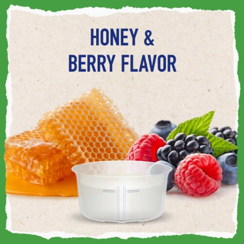 Mucinex FreeFrom Honey & Berry Flavor Severe Conestion & Cough Liquid Perspective: back