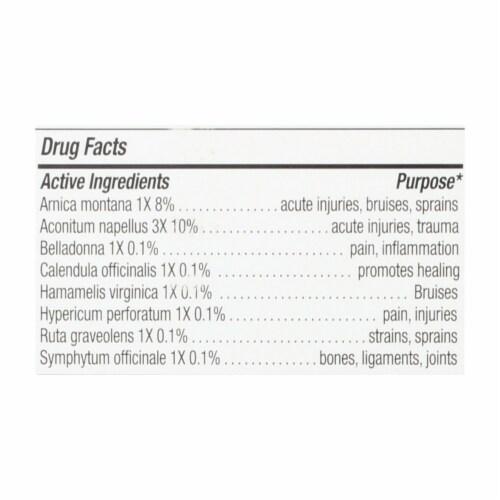 NatraBio  The Arnica Rub™ Pain Relief Cream Perspective: back