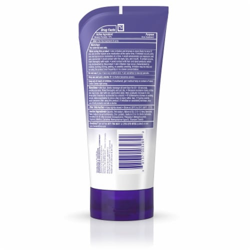 Clean & Clear Continuous Control Acne Face Wash Perspective: back